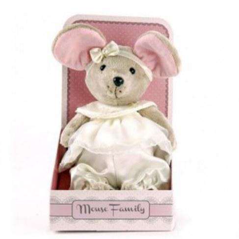 Мягкая игрушка Fluffy Family Мышка Пушинка 681208 в Москве