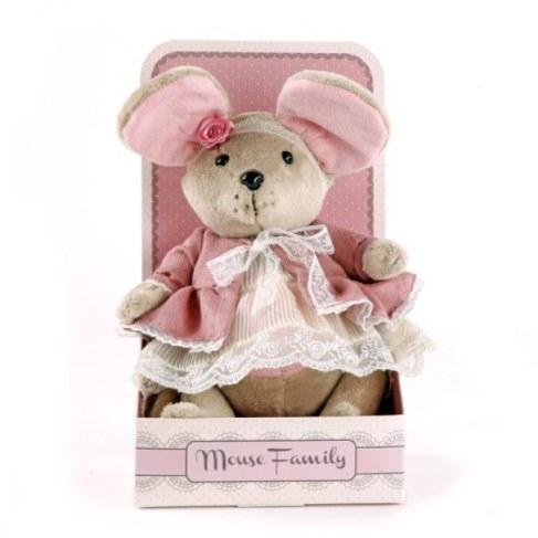 Мягкая игрушка Fluffy Family Мышка Розочка 681203 в Москве