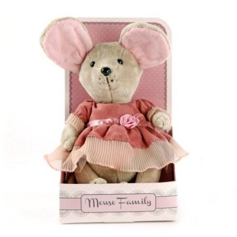 Мягкая игрушка Fluffy Family Мышка Лакомка 681201 в Москве
