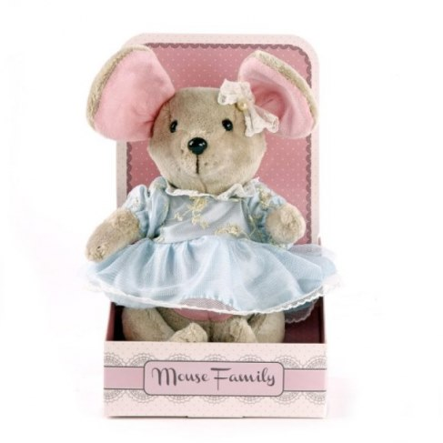 Мягкая игрушка Fluffy Family Мышка Капелька 681209 в Москве