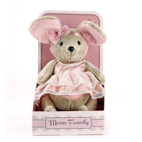 Мягкая игрушка Fluffy Family Мышка Зефирка 681202 в Москве