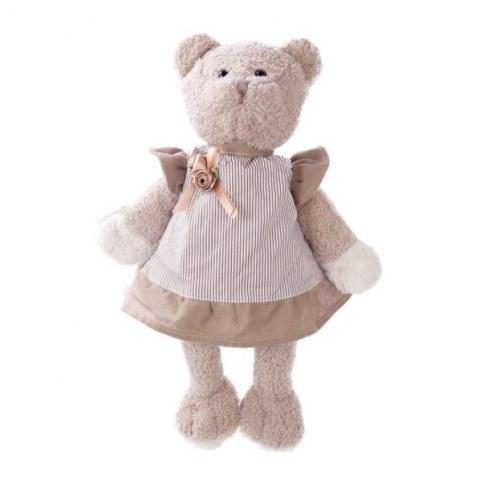 Мягкая игрушка Angel Collection Мишка Машенька 23см в сером 681394 в Москве