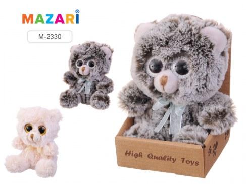 Мягкая игрушка Mazari Медвежонок с бантиком с большими глазами M-2330 в Москве