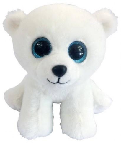 Мягкая игрушка ABtoys Медвежонок полярный белый 15 см M0045 в Москве