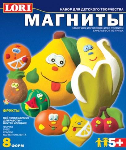 Фигурки Lori М-005 на магнитах Фрукты в Москве