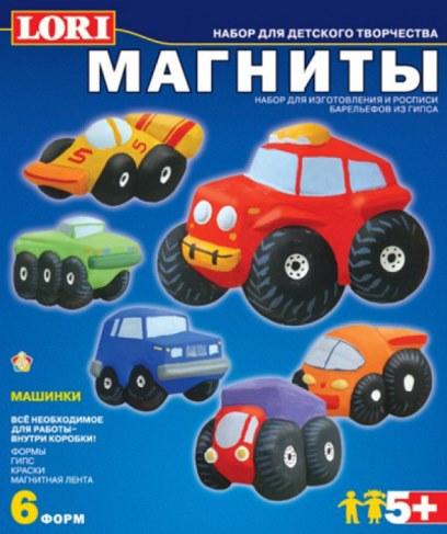 Фигурки Lori М-012 на магнитах Машинки в Москве