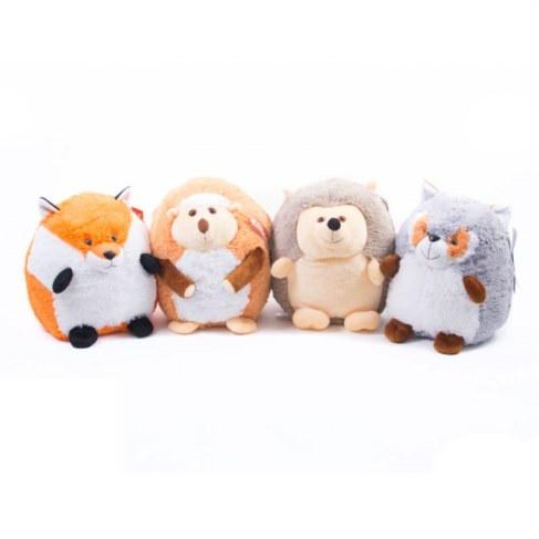 Мягкая игрушка Нижегородская игрушка Круглый зоопарк 23 см Cм-694-5 в Москве