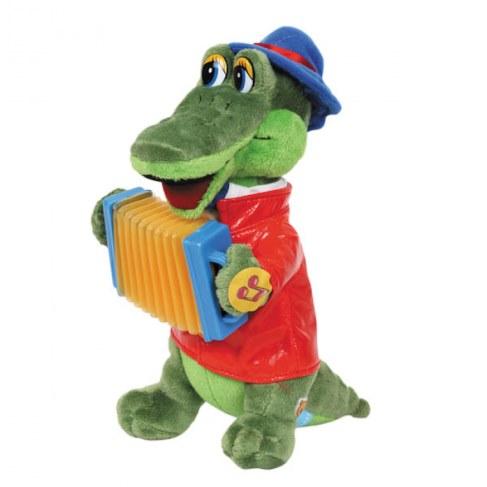 Мягкая игрушка Мульти-Пульти Крокодил Гена с аккордеоном, 24 см V40652-21MS26 в Москве