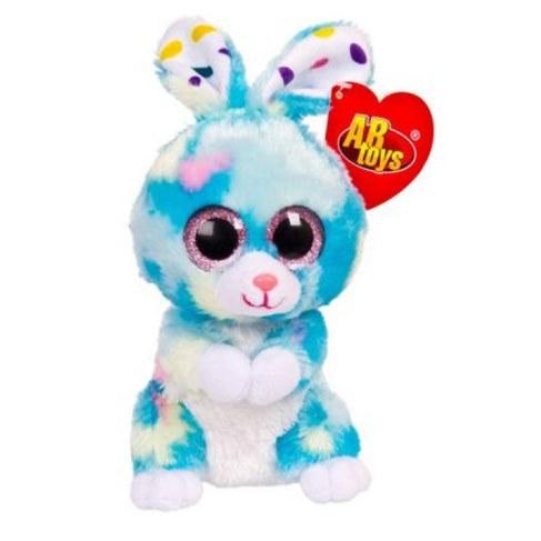 Мягкая игрушка Teddy Кролик голубой M0042 в Москве