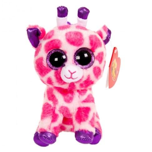 Мягкая игрушка ABtoysM Жираф розовый 15 см M0029 в Москве