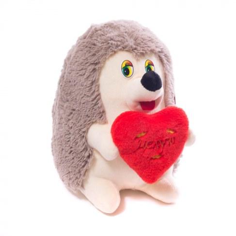 Мягкая игрушка Нижегородская игрушка Ежик с сердцем (малый) Cм-726-5 в Москве