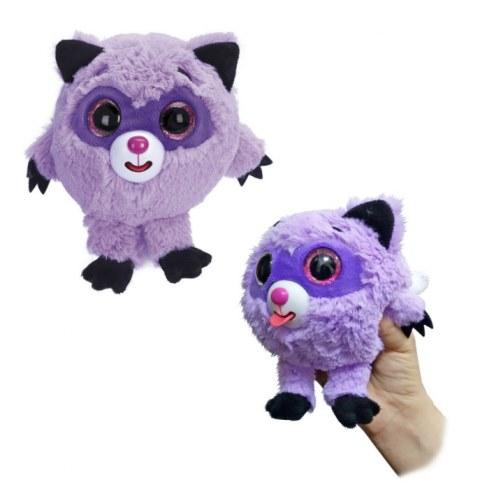 Мягкая игрушка 1toy Дразнюка-Zooка. Фиолетовый енот Т10353 в Москве