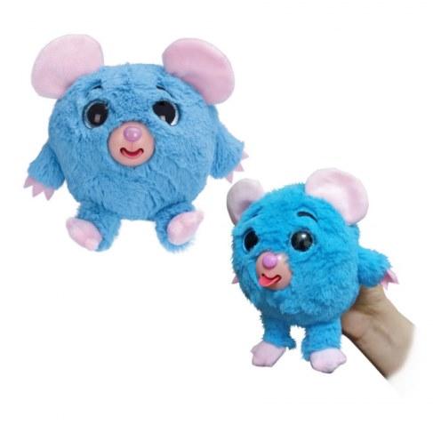 Мягкая игрушка 1toy Дразнюка-Zooка. Голубая мышка Т10350 в Москве