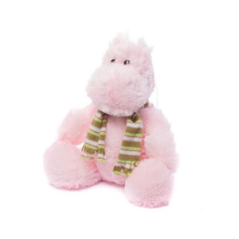 Мягкая игрушка Нижегородская игрушка Бегемотик в шарфе Cm-695-5 в Москве