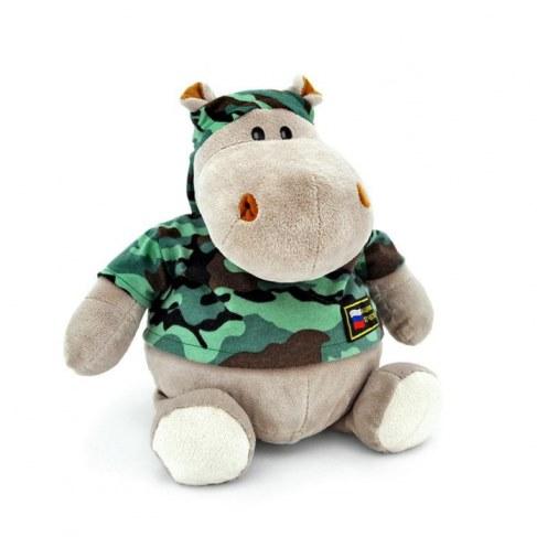 Мягкая игрушка Orange Бегемот-военный MA2640/50E-no в Москве