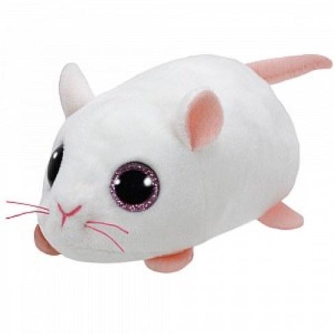 Мягкая игрушка TY Teeny Tys Мышка Anna белая 42216 в Москве