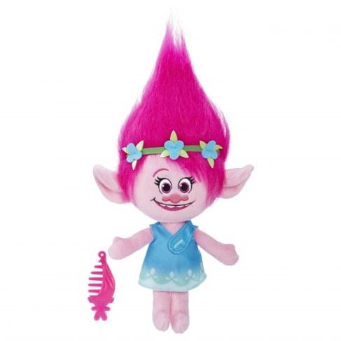 Мягкая игрушка Hasbro Trolls Говорящая Поппи B7772 в Москве
