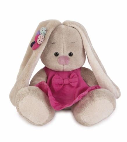 Мягкая игрушка BUDI BASA SidX - 144 Зайка Ми в розовом сарафанчике и ромашкой на ушке(малыш) в Москве