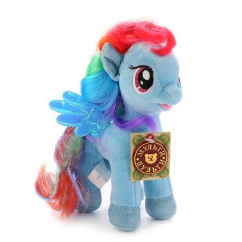 Мягкая игрушка Мульти-Пульти My Little Pony Пони Радуга 18см (звук) V27483/18 в Москве