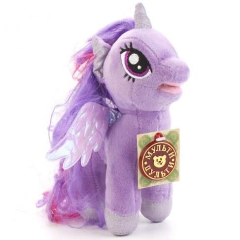 Мягкая игрушка Мульти-Пульти My Little Pony Искорка 18см (звук) V27478/18 в Москве