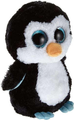 Мягкая игрушка TY Beanie Boos - Пингвин Waddles 36904 в Москве