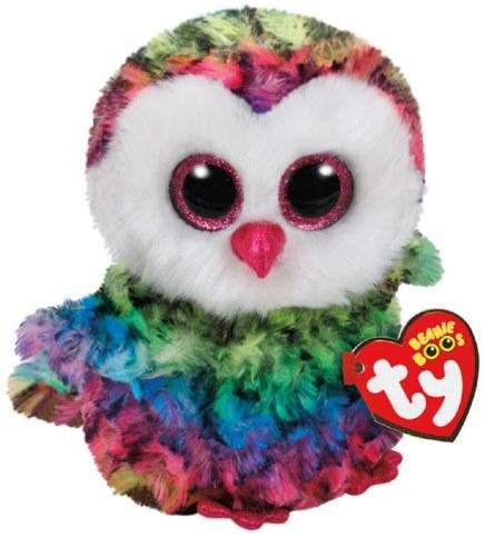 Мягкая игрушка TY Beanie Boo\'s Совенок Owen37221 в Москве