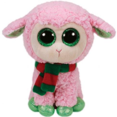 Мягкая игрушка TY Beanie Boos-Овечка розовая с шарфом 36969 в Москве