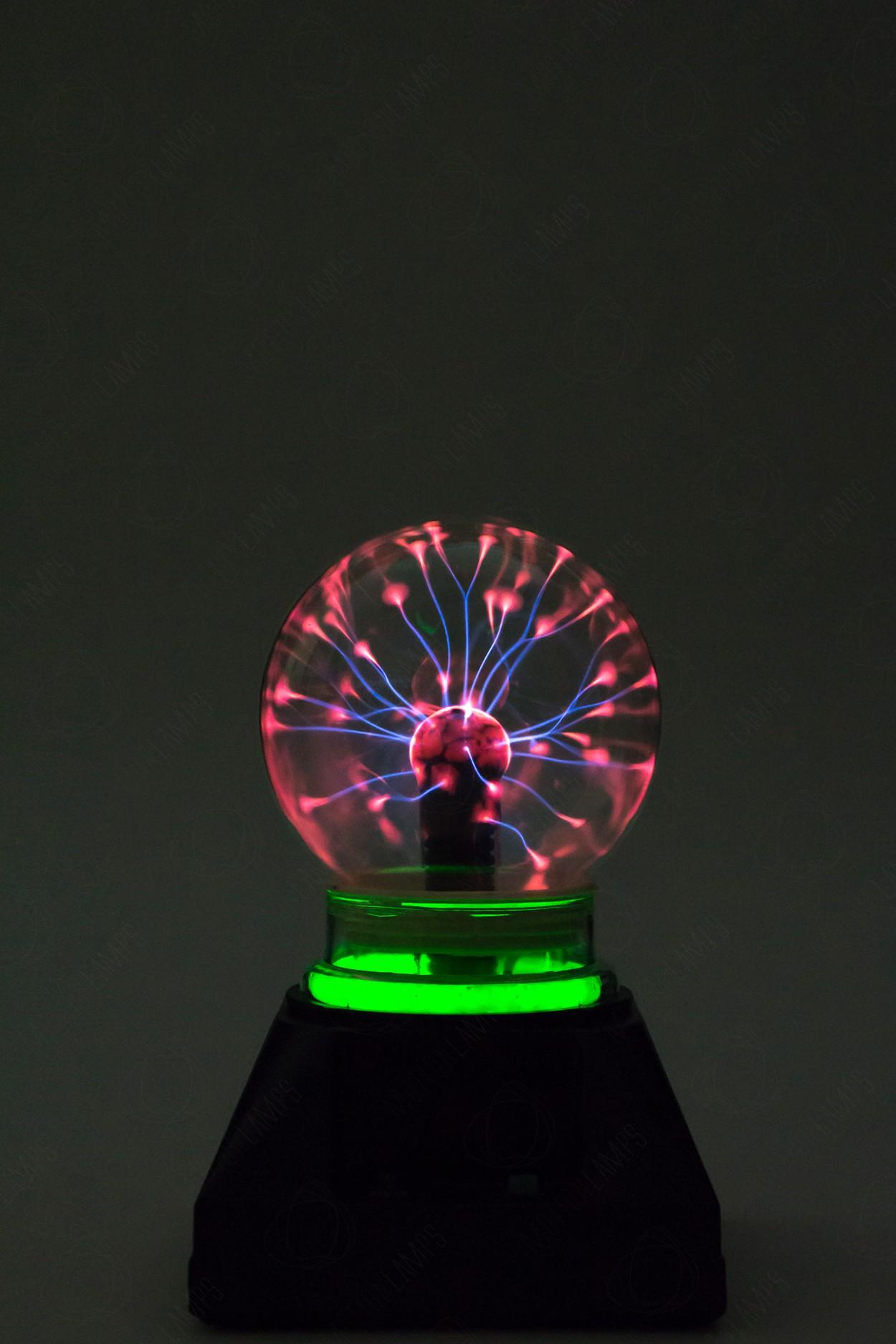 Электрический плазменный шар Тесла (D - 10см) Green в Москве