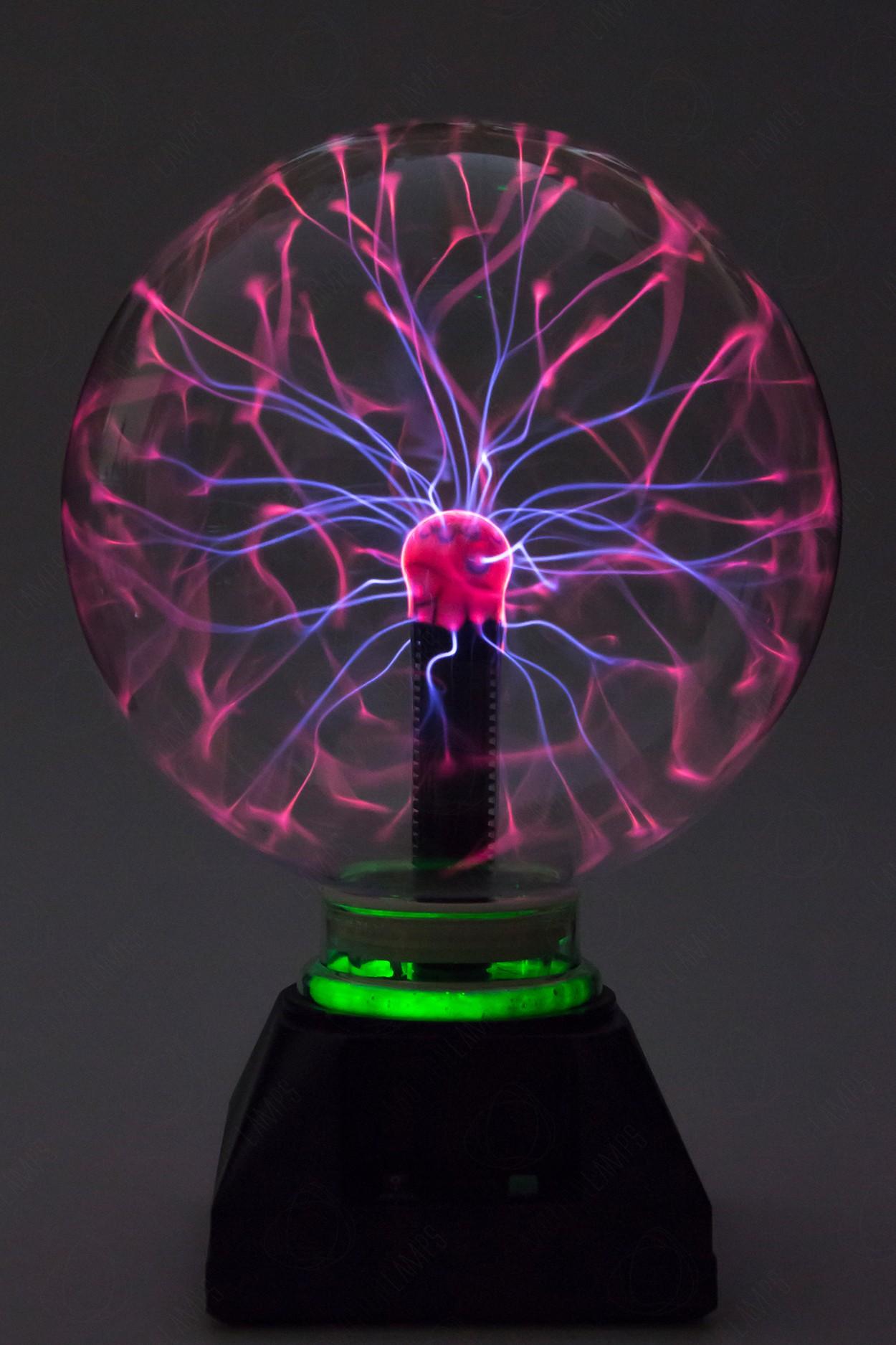 Электрический плазменный шар Тесла (D - 20см) Green в Москве