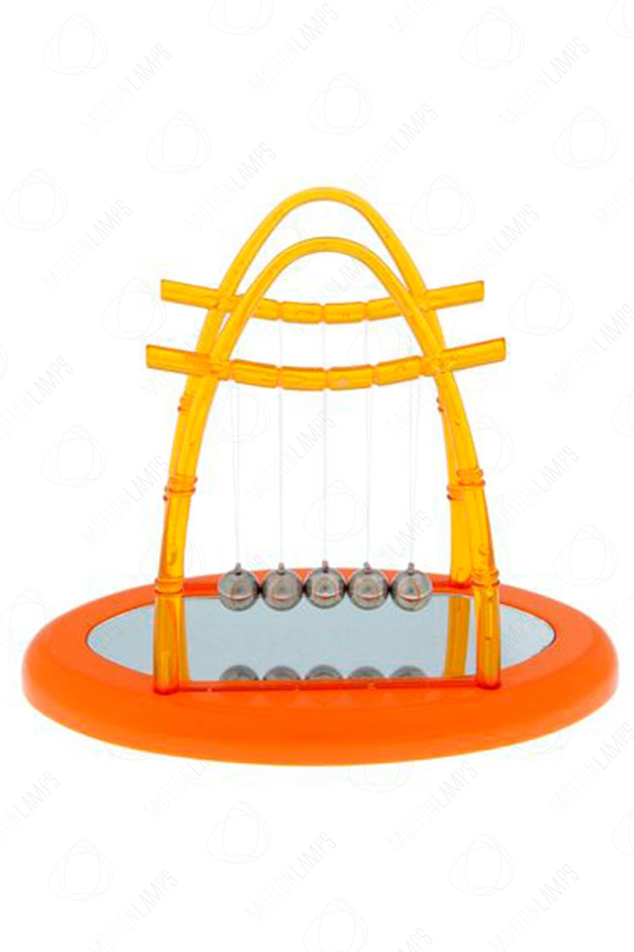 Кинетический маятник Ньютона A1 15см оранжевый в Москве