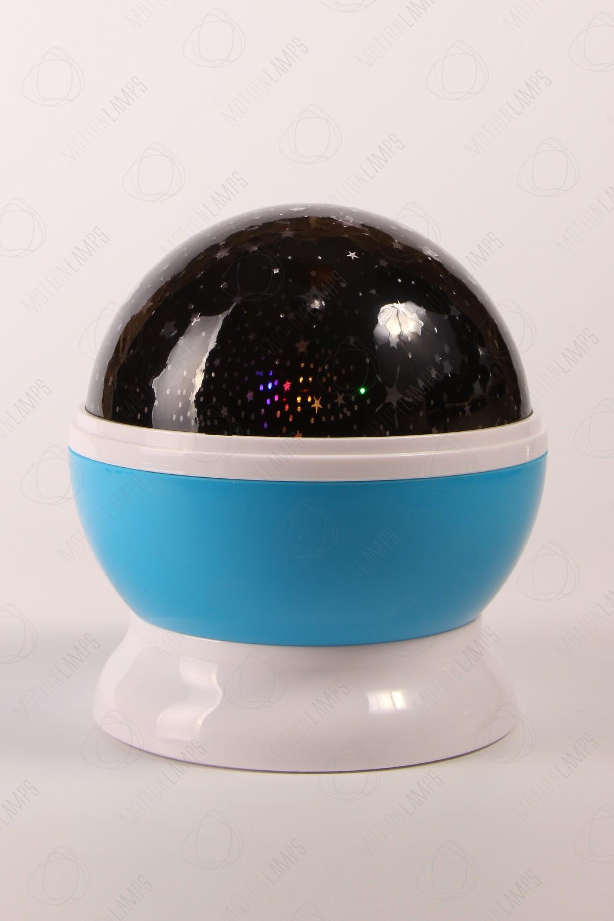 Ночник-проектор звездного неба «Dream» синий в Москве