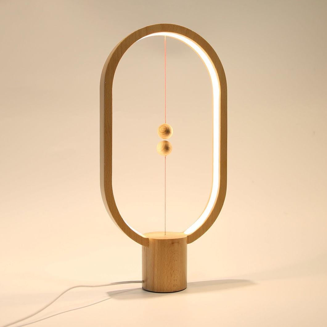 Лампа настольная Heng balance (деревянная) в Москве