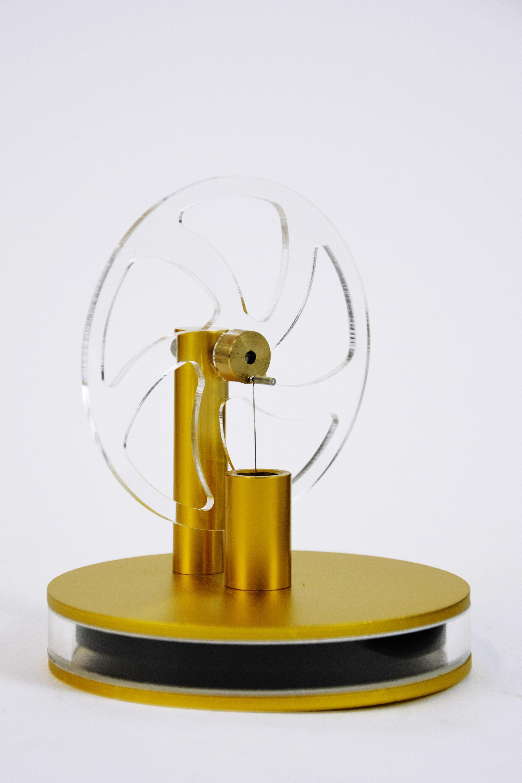 Двигатель Стирлинга на чашку (Золотой) в Москве
