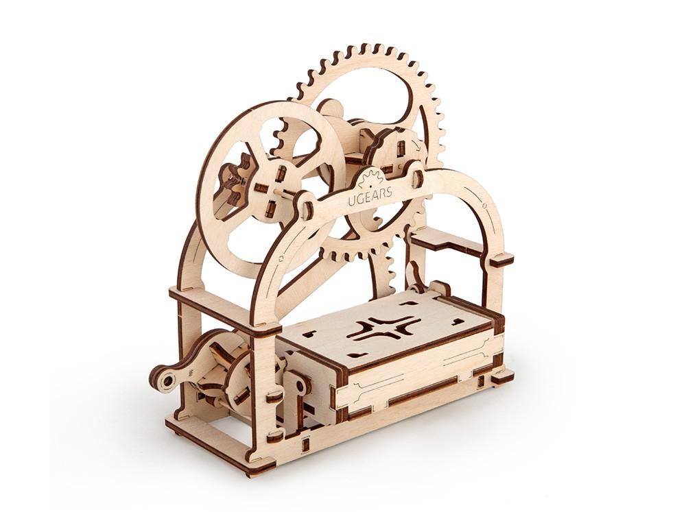 Сборная модель Ugears - Механическая шкатулка в Москве