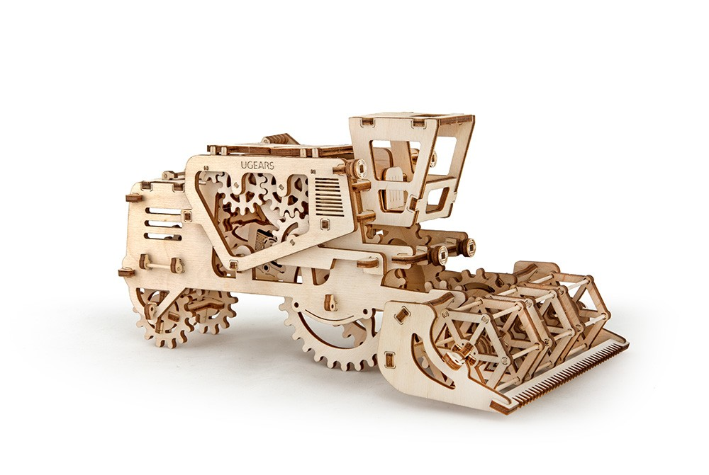 Конструктор 3D-пазл Ugears - Комбайн в Москве