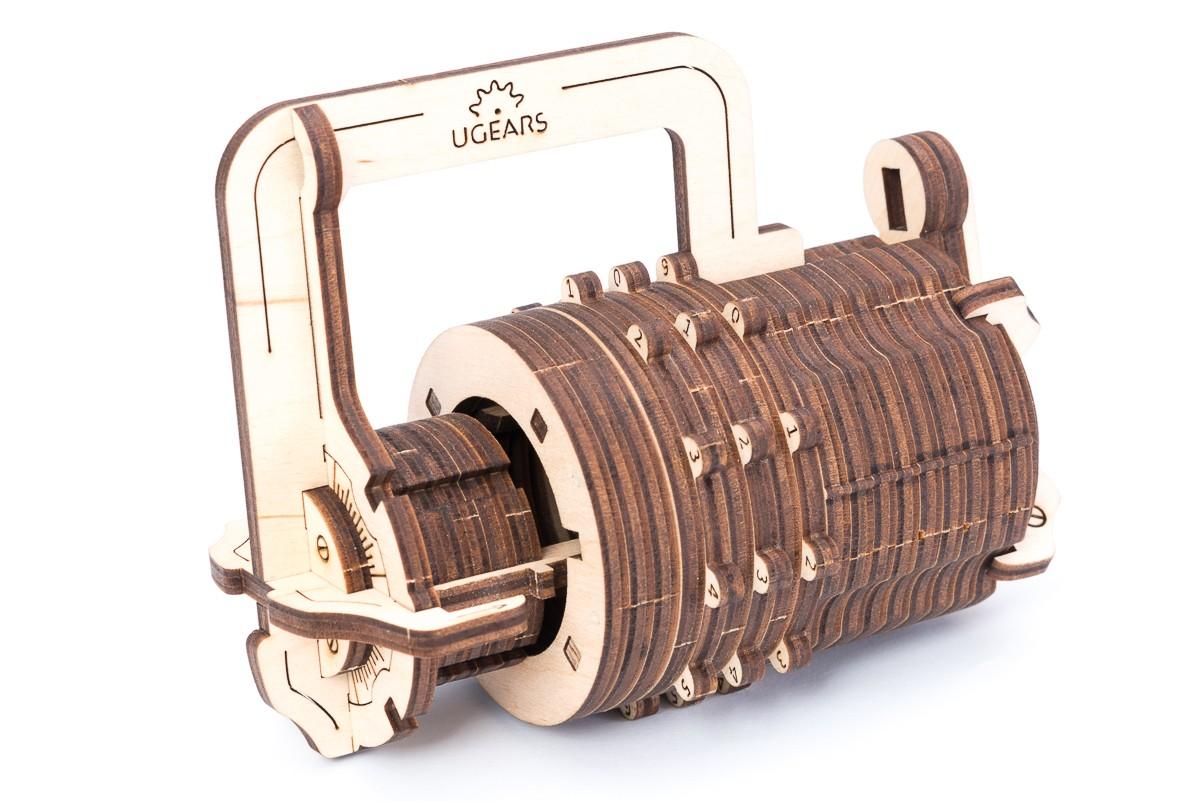 Конструктор 3D-пазл Ugears Кодовый Замок в Москве