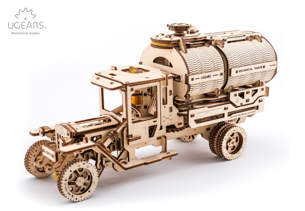 Конструктор 3D-пазл Ugears Автоцистерна в Москве