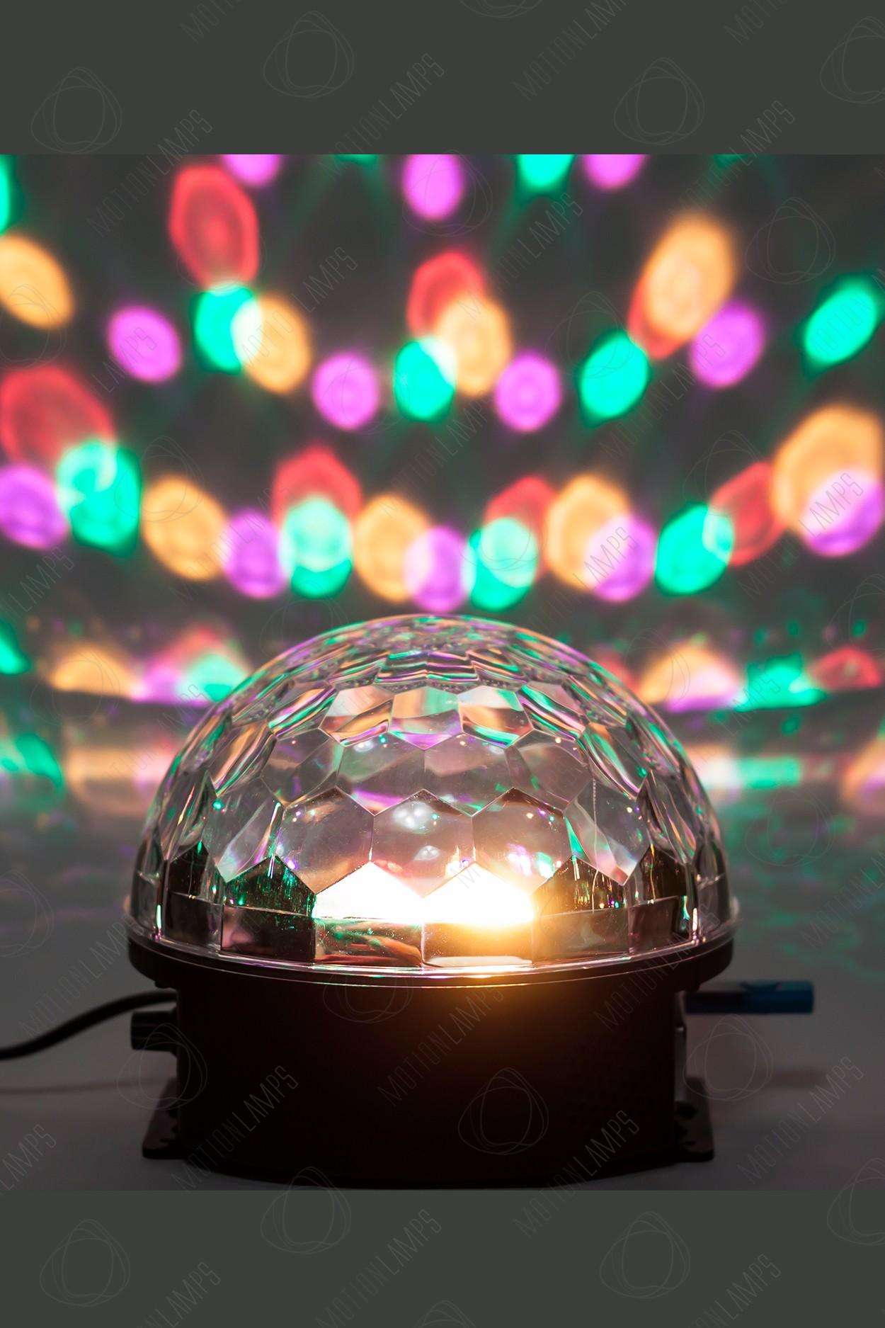 Музыкальный диско-шар LED Magic Ball Light с ДУ (Bluetooth) в Москве