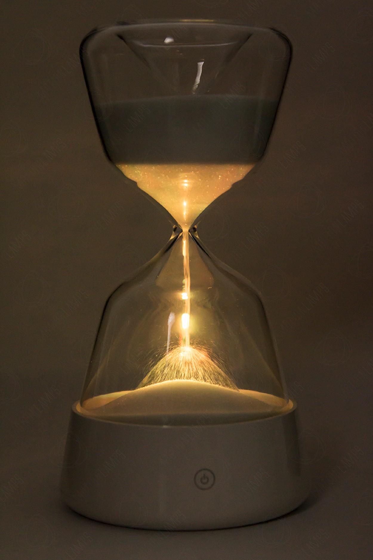 Светящиеся песочные часы LED 25см в Москве
