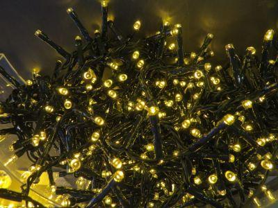 Светодиодная гирлянда (теплый свет)Triumph Tree 83077 для улицы и дома 1600 см в Москве