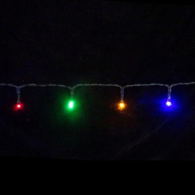 Светодиодная гирлянда на батарейках с таймером (мультиколор) Luca lights 83088 720 см в Москве