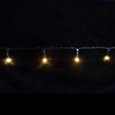 Светодиодная гирлянда на батарейках с таймером (теплый свет) Luca lights 83084 720 см в Москве