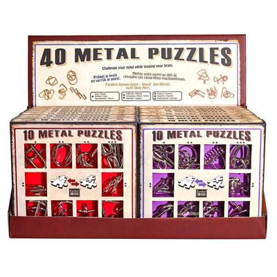 """Набор металлических головоломок""""Eureka! 3D Puzzle"""", 16 шт в дисплее в Москве"""