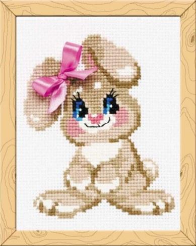 Набор для вышивания Riolis Premium Крольчонок НВ105 в Москве