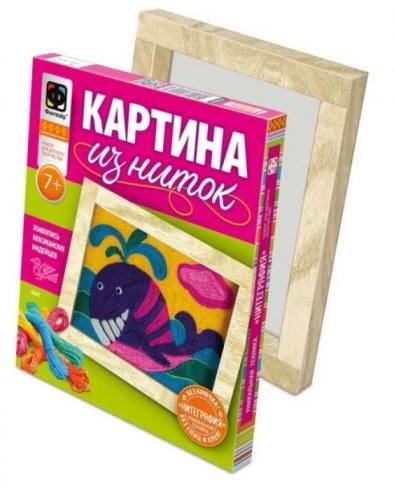 Картина Josephin из ниток Кит 409001 в Москве