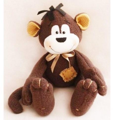 Набор Ваниль для шитья игрушки Monkey Story Обезьянка 16 см MN001 в Москве