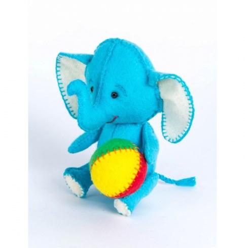 Набор Перловка для изготовления игрушки Слоник ПФД-1055 в Москве