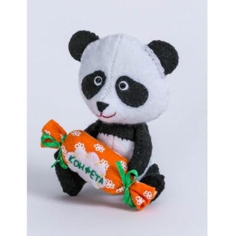 Набор Перловка для изготовления игрушки Панда ПФД-1057 в Москве