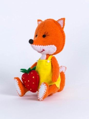 Набор Перловка для изготовления игрушки Лисичка ПФД-1056 в Москве