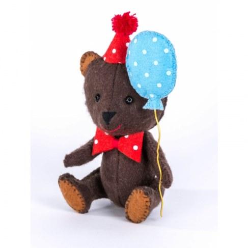 Набор Перловка для изготовления игрушки Happy Мишка ПФД-1051 в Москве